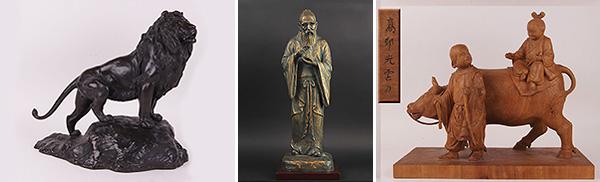 彫刻・ブロンズ像・仏像・人形